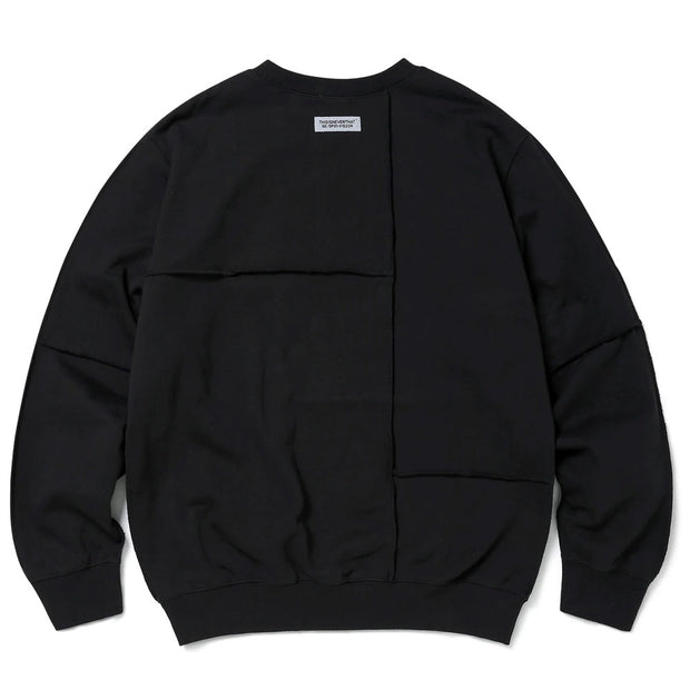 CP-Paneled Crewneck 'Black'