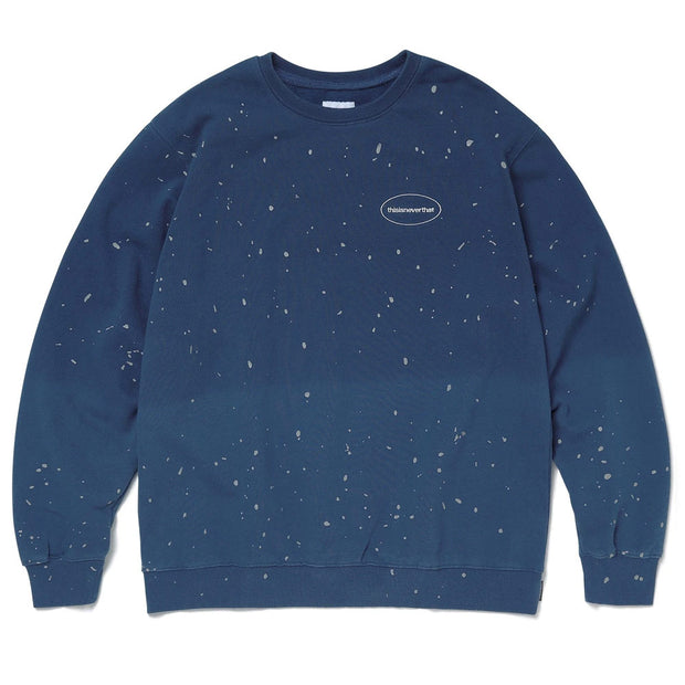 Dip Dyed Crewneck 'Dark Blue'