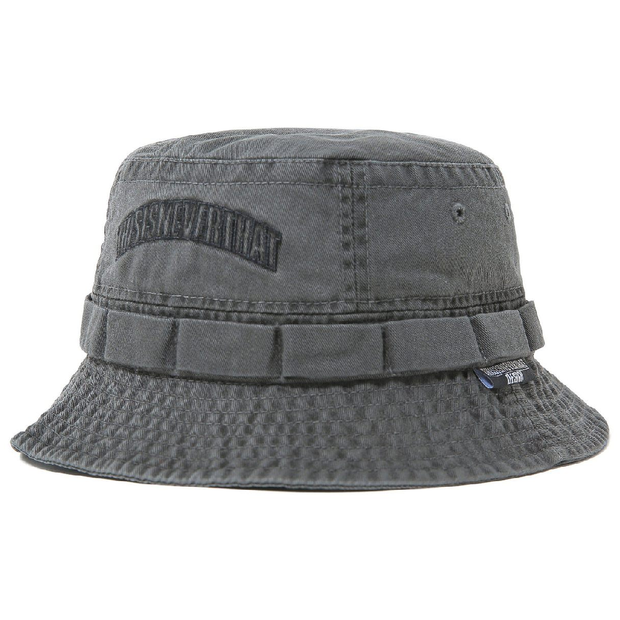 Overdyed Jungle Bucket Hat 'Charcoal'