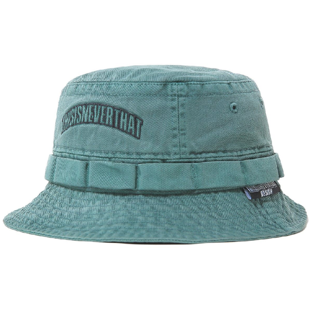Overdyed Jungle Bucket Hat 'Green'