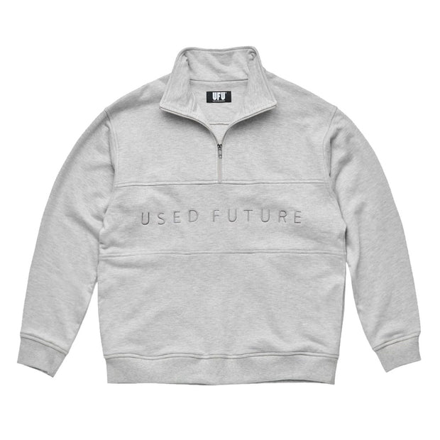 Quarter Zip Up 'Grey'