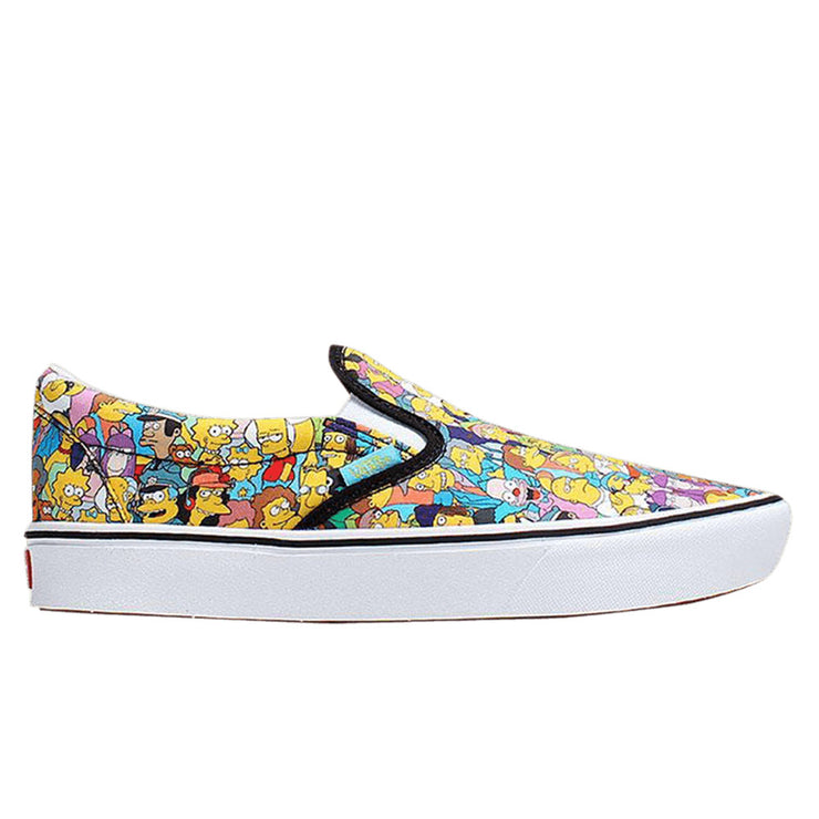 UA ComfyCush Slip-on (The Simpsons) 'Springfield'