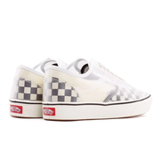 UA ComfyCush Slip-Skool Checkerboard 'Black / White'