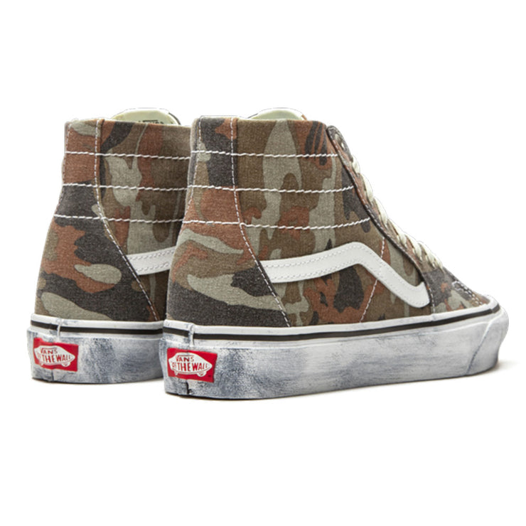 Sk8-Hi Tapered Washed  'Camo / True White'