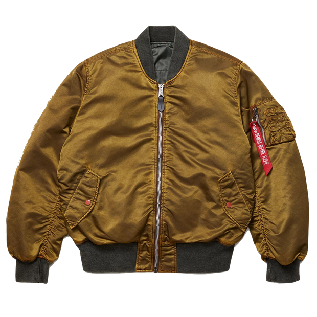 MA-1 Blood Chit Battlewash Flight Jacket