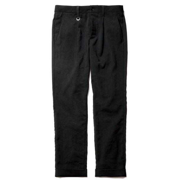 Double Cuff Slim Fit 1Tuck Pants