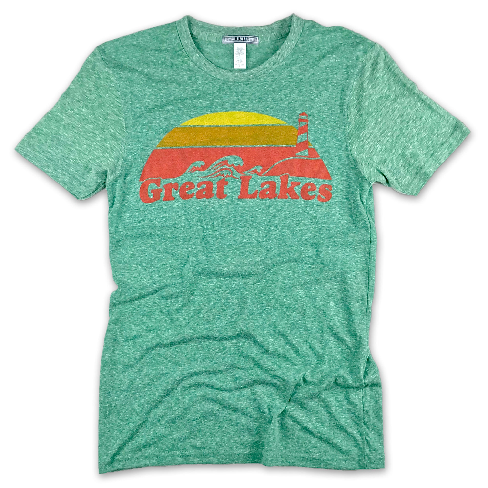 Great Lakes Vintage T-Shirt - Unparalleled Apparel