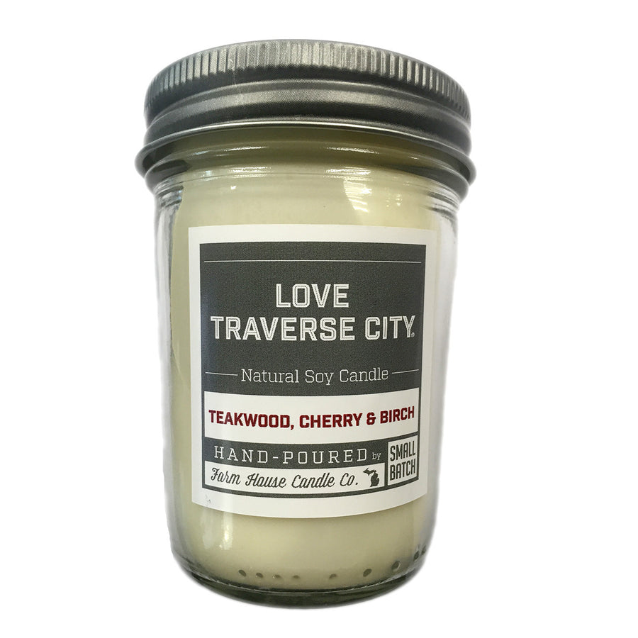 love traverse city candle
