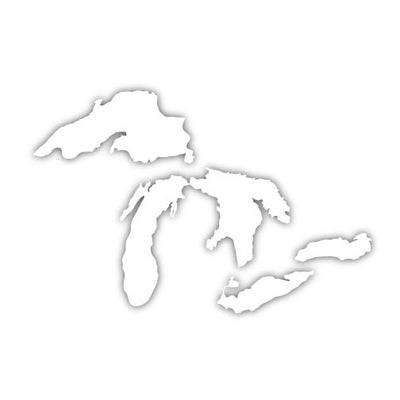 Great Lakes Decal - Unparalleled Apparel