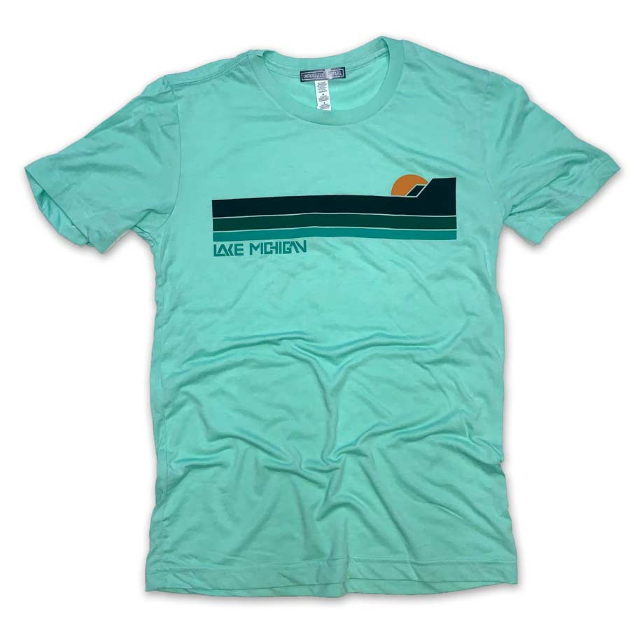 Lake Michigan Bluffs T-Shirt