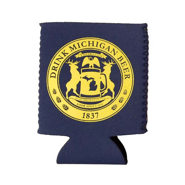 Drink Michigan Beer Coozie