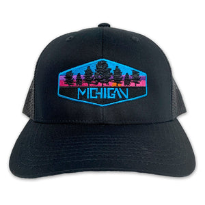 Michigan Badge Hat - Unparalleled Apparel