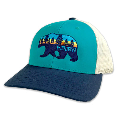 Michigan Bear Hat - Unparalleled Apparel