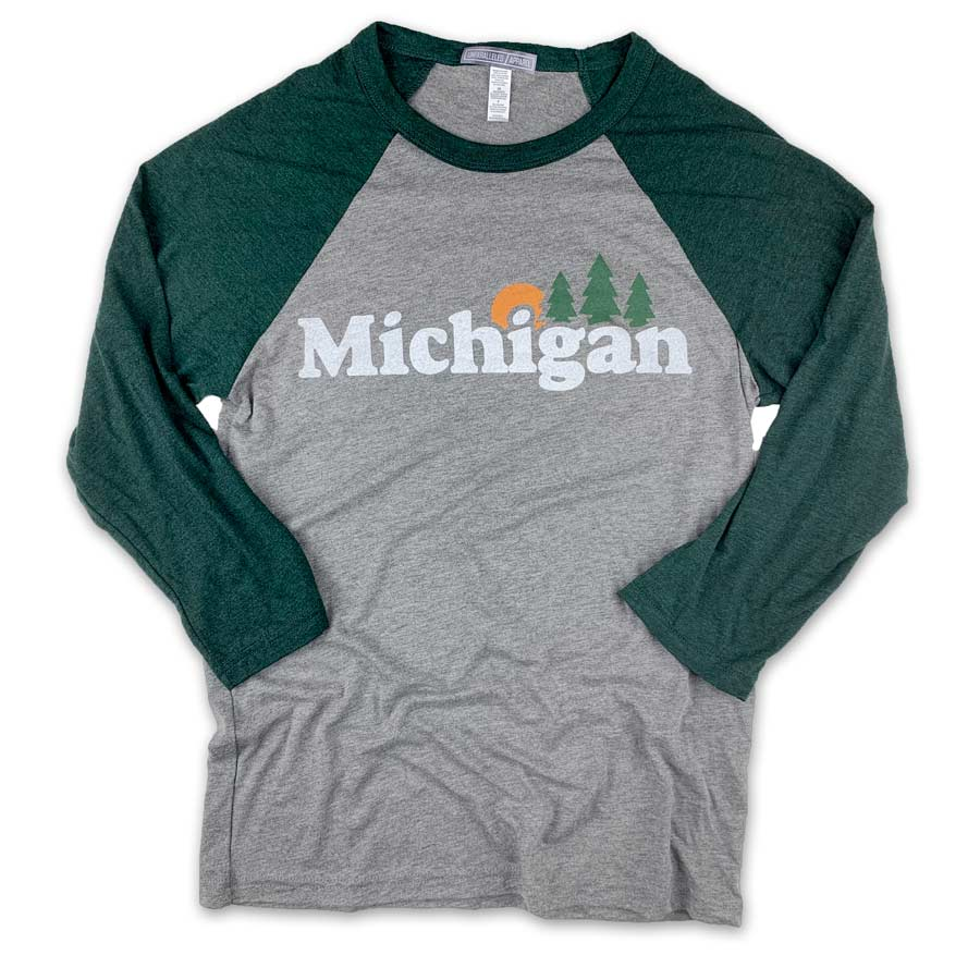 Michigan Classic Baseball Shirt - Unparalleled Apparel