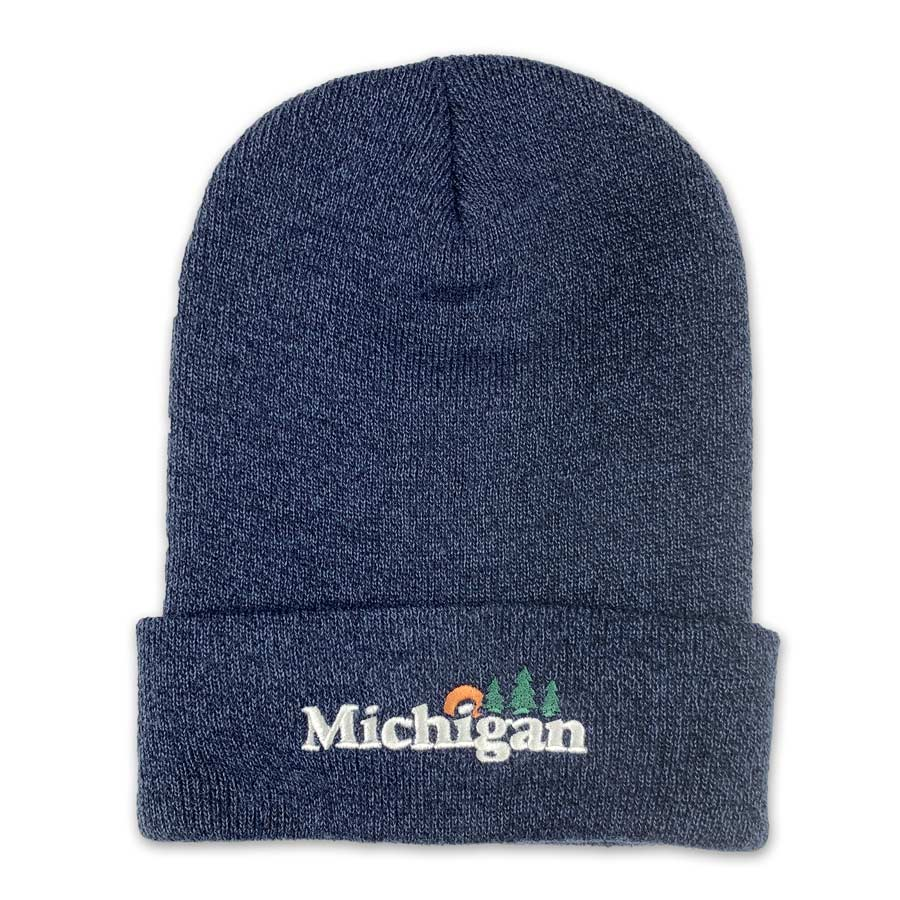 Michigan Classic Beanie - Unparalleled Apparel