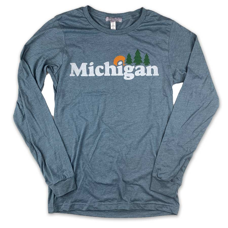 Michigan Classic Long Sleeve - Unparalleled Apparel