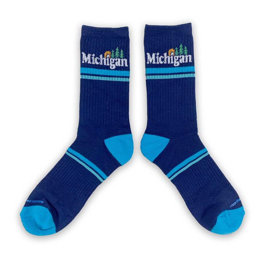 Michigan Classic Socks