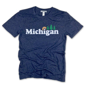 Michigan Classic T-Shirt - Unparalleled Apparel
