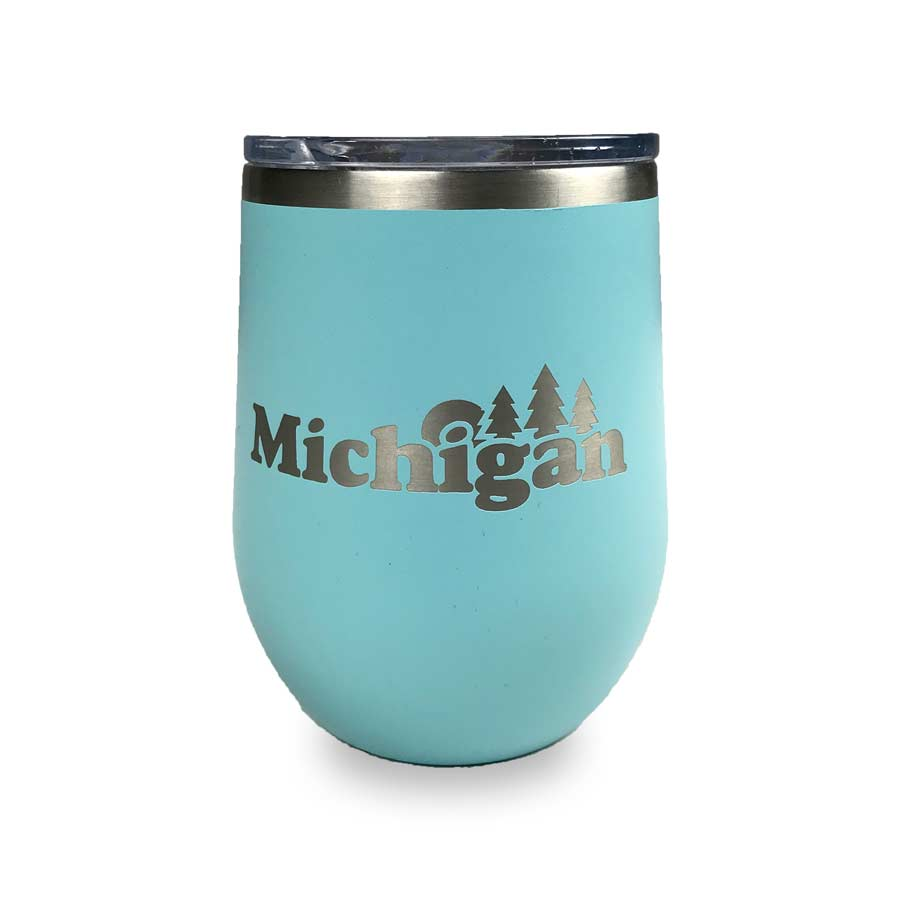 Michigan Classic Wine Tumbler
