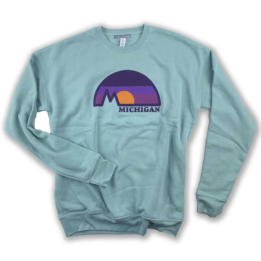 Michigan Dome Crewneck Sweatshirt