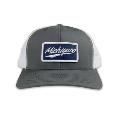Michigan Script Patch Hat - Unparalleled Apparel