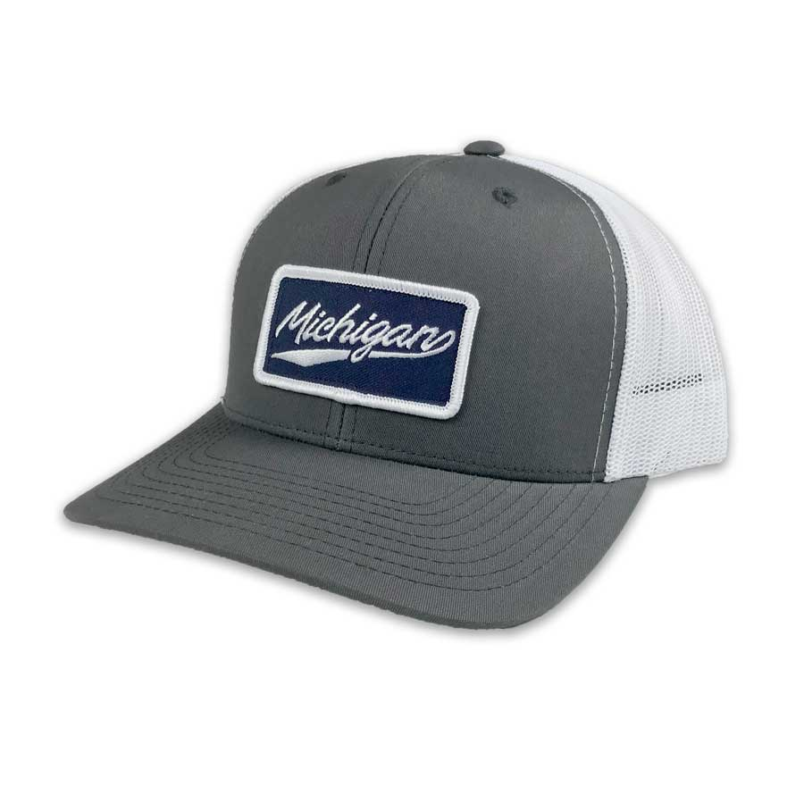 Michigan Script Patch Hat