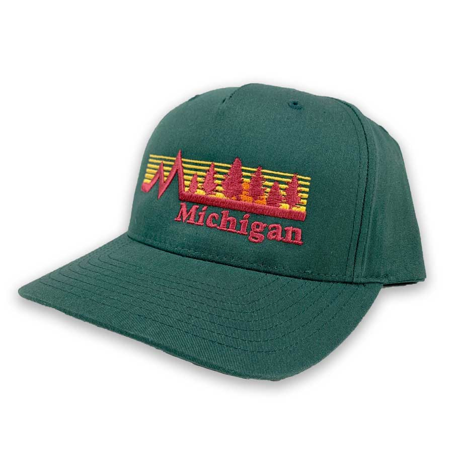 Michigan Vintage Forest Hat