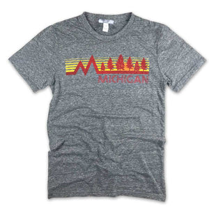 Michigan Vintage Forest T-Shirt - Unparalleled Apparel