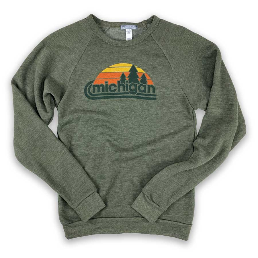 Michigan Wilderness Crewneck