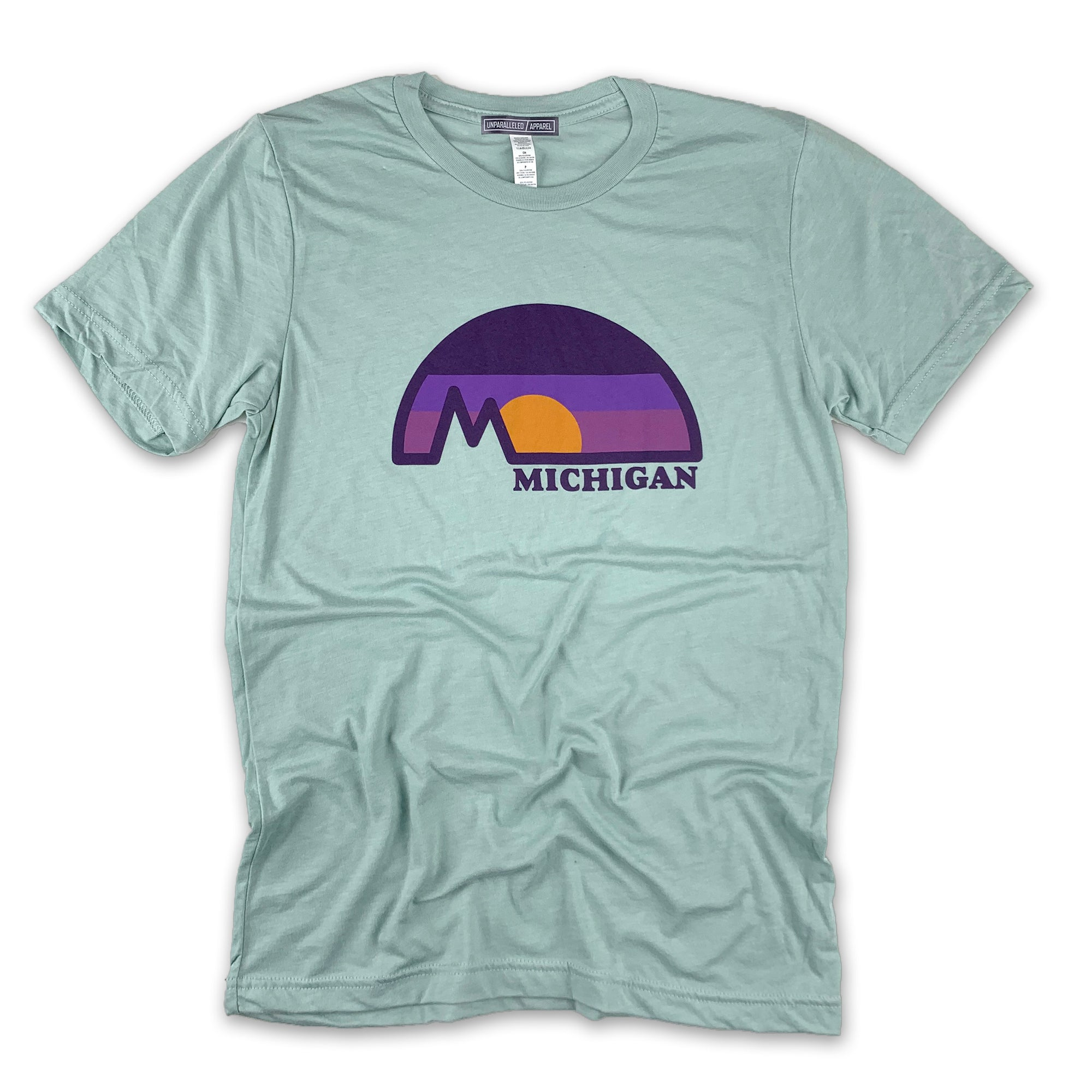 Michigan Dome T-Shirt - Unparalleled Apparel