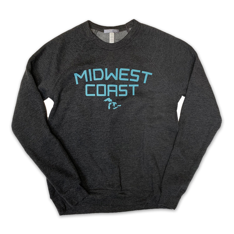 Midwest Coast Crewneck Sweatshirt - Unparalleled Apparel