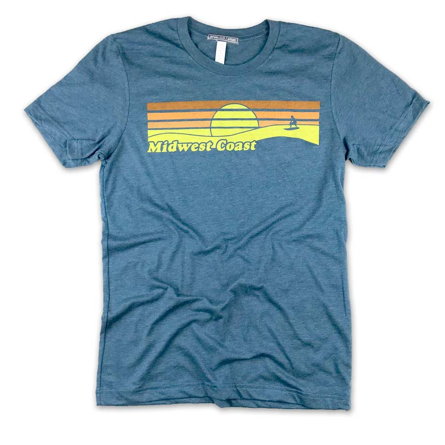 Midwest Coast Surf T-Shirt - Unparalleled Apparel