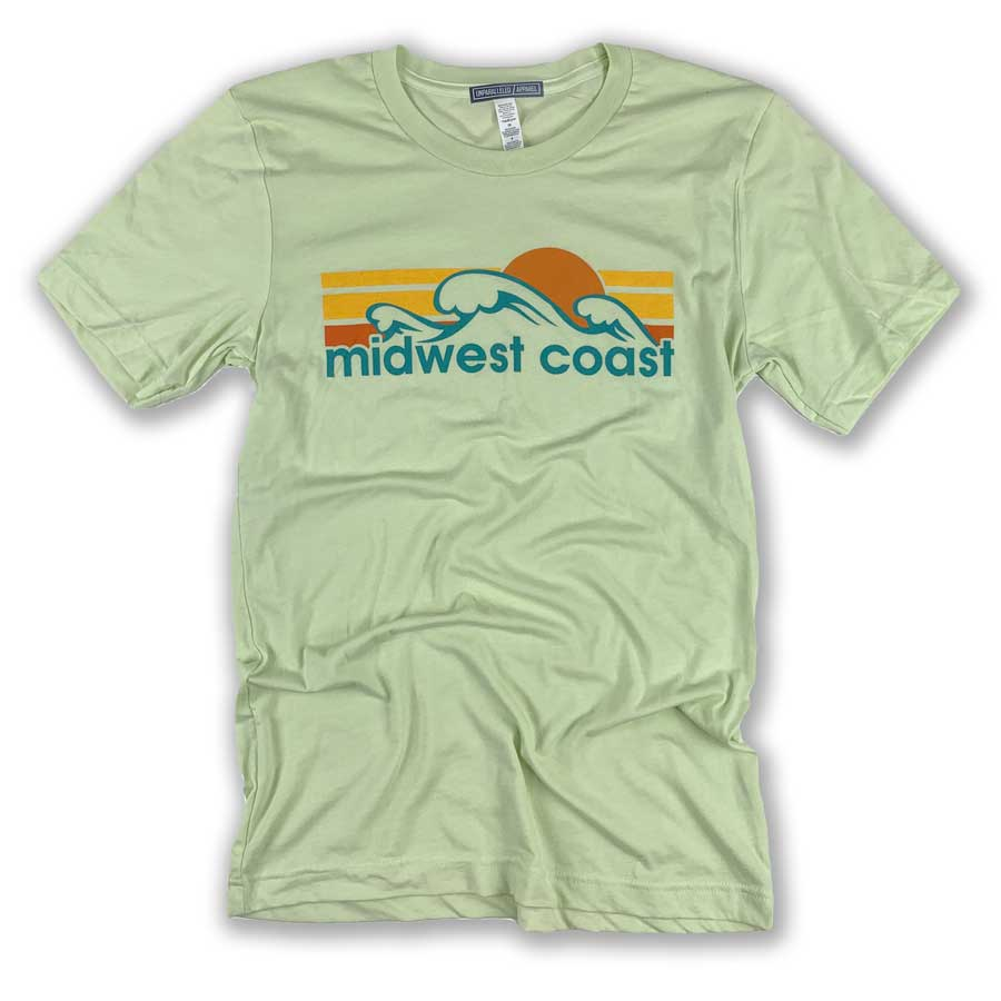 Midwest Coast Waves T-Shirt