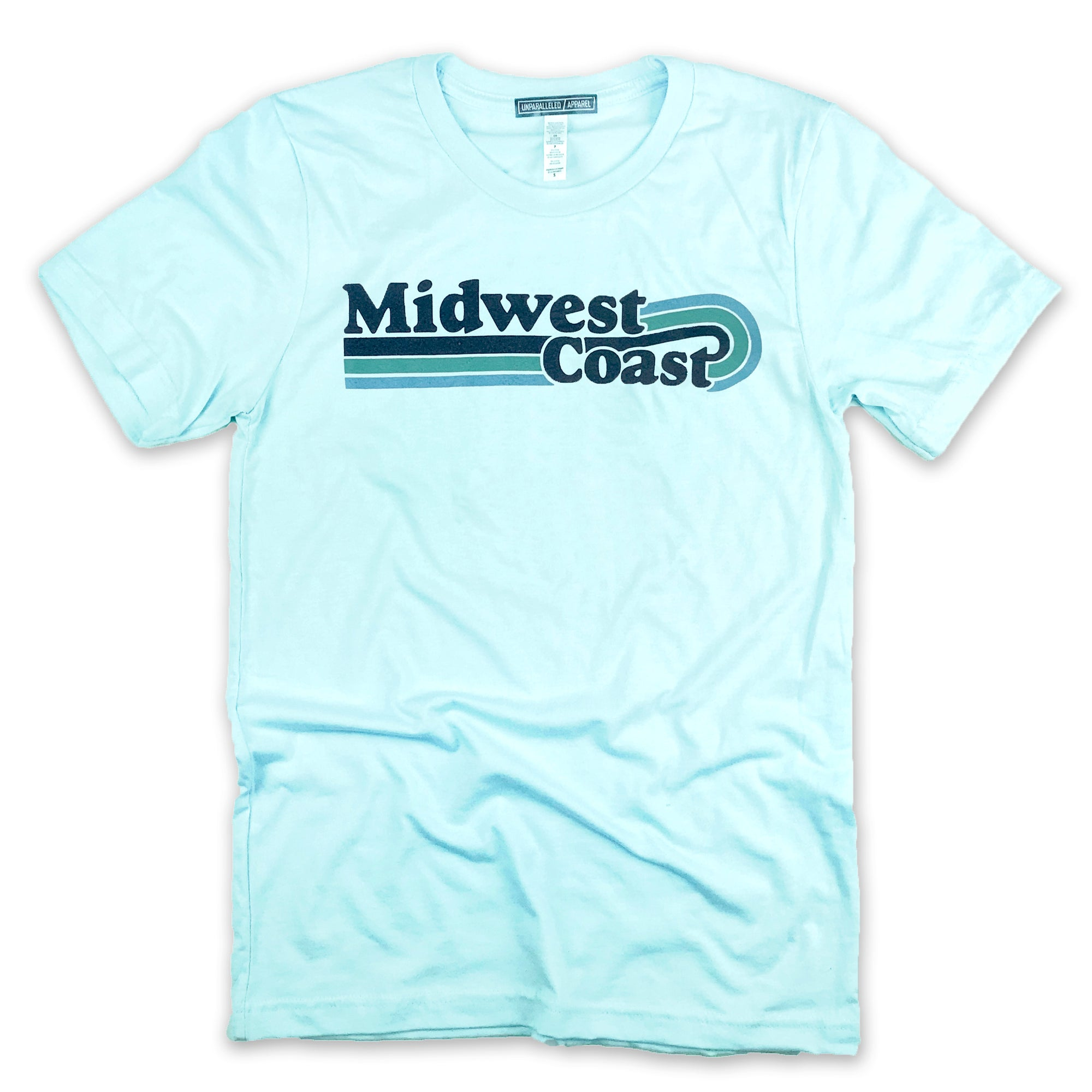 Midwest Coast Vintage Wave T-Shirt - Unparalleled Apparel