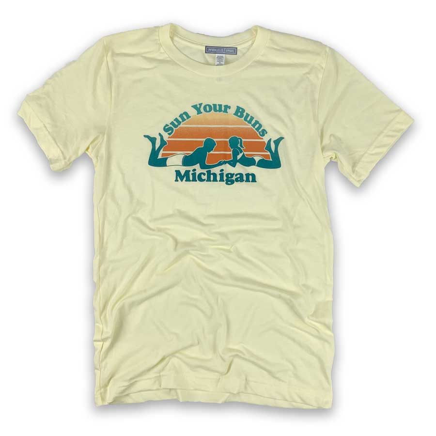 Sun Your Buns Michigan T-Shirt