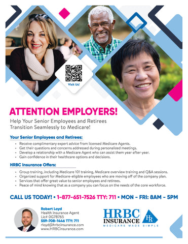 Attention Employers - Flyer