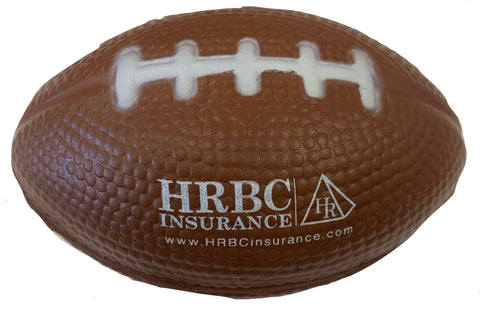 Football Stress Ball - HRBC Branded Giveaway