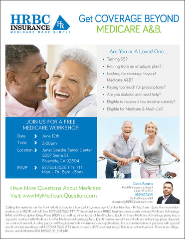 Medicare Workshop Flyer