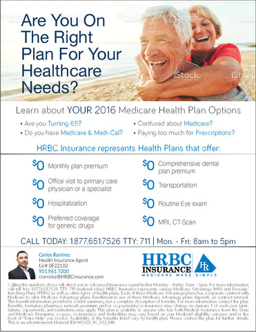 Are You On The Right Plan For Your Healthcare Needs? - Flyer