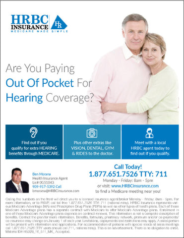 Are You Paying Out Of Pocket For Hearing Coverage? - Flyer