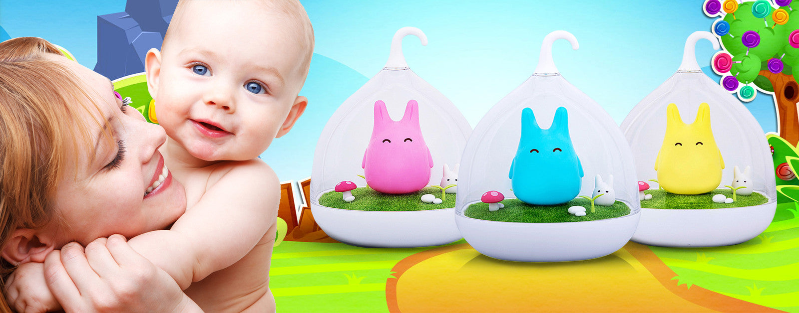 Afraid of the Dark? Get this Adorable Touch Sensor LED Night Lights for Babies, Kids & Young Adults Too!