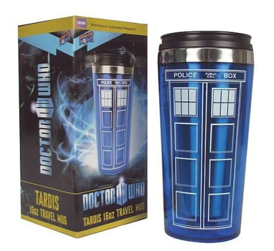 Tardis Time Machine Stainless-Steel Mug