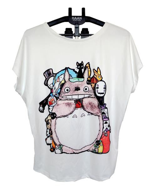 Studio Ghibli Loose Tee Shirts