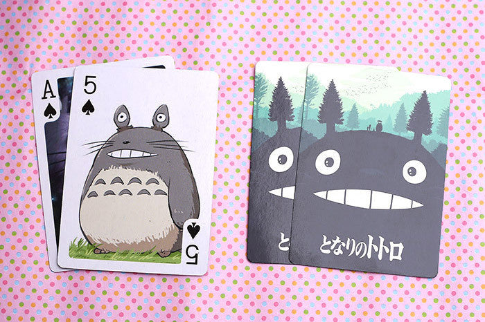 TOTORO PLAYING CARDS