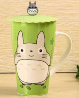 Rare Totoro Mug with Cute Lid