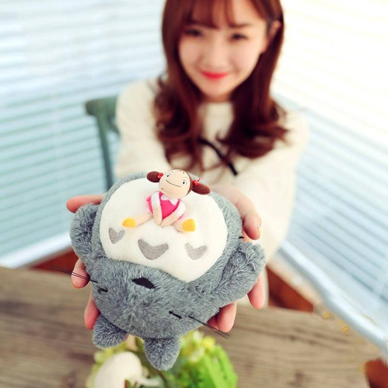 *EXCLUSIVE! Interactive Snoring Totoro & Mei Plush Toy