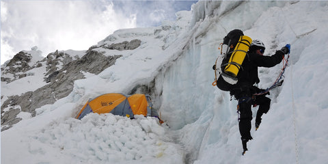 Mountaineer Climbing