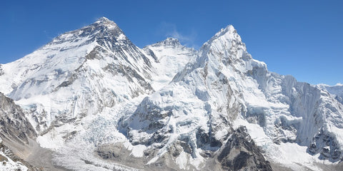 Mount Everest, Lhotse, and Nuptse