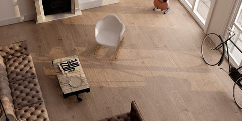 Wood Effect Tiles in Stunning Hipster Apartment