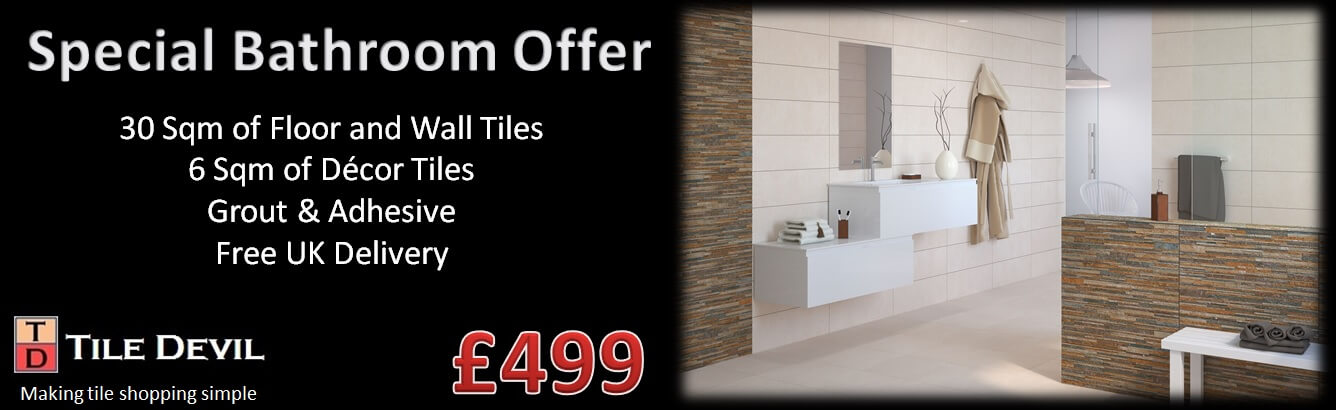 Bathroom Tiles on Special Offer